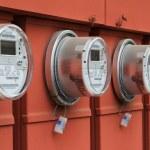 Power meters — Stock Photo #3741224
