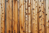 Knotty wood wall — Stock Photo