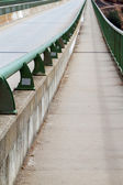 Bridge pedestrian walk — Stock Photo