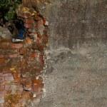 Crumbling brick wall — Stock Photo #3814406