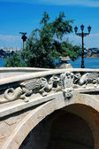 The bridge on quay in Sevastopol — Stock Photo