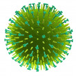 Influenza virus — Stock Photo