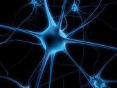Neuron cell — Stock Photo