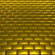 Stock Photo: Gold road