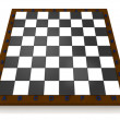 Volume chess board - Stock Photo