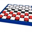 Stock Photo: Glass checkers