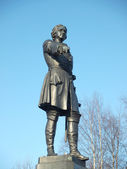 MONUMENT TO TSAR PETER THE GREAT — Stock Photo