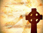 Christian Cross Background — Stock Photo