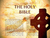 The Bible Background — Stock Photo