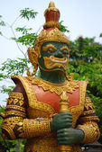 Buddhist Temple Guard — Stock Photo