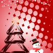 Christmas scene — Vector de stock #2789372