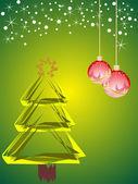 Christmas decoration — Stok Vektör