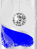 Disco sphere — Stock Vector