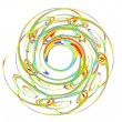Abstract spiral — Stock Vector