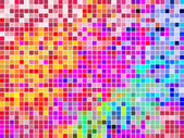 Colorful square mosaik — Stock Vector