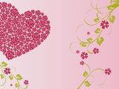 Romantic heart — Stock Vector