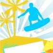 Royalty-Free Stock Векторное изображение: Summer sport illustration