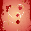 Royalty-Free Stock Vector Image: Valentine`s background