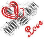 Valentine`s greetings — Stockvector
