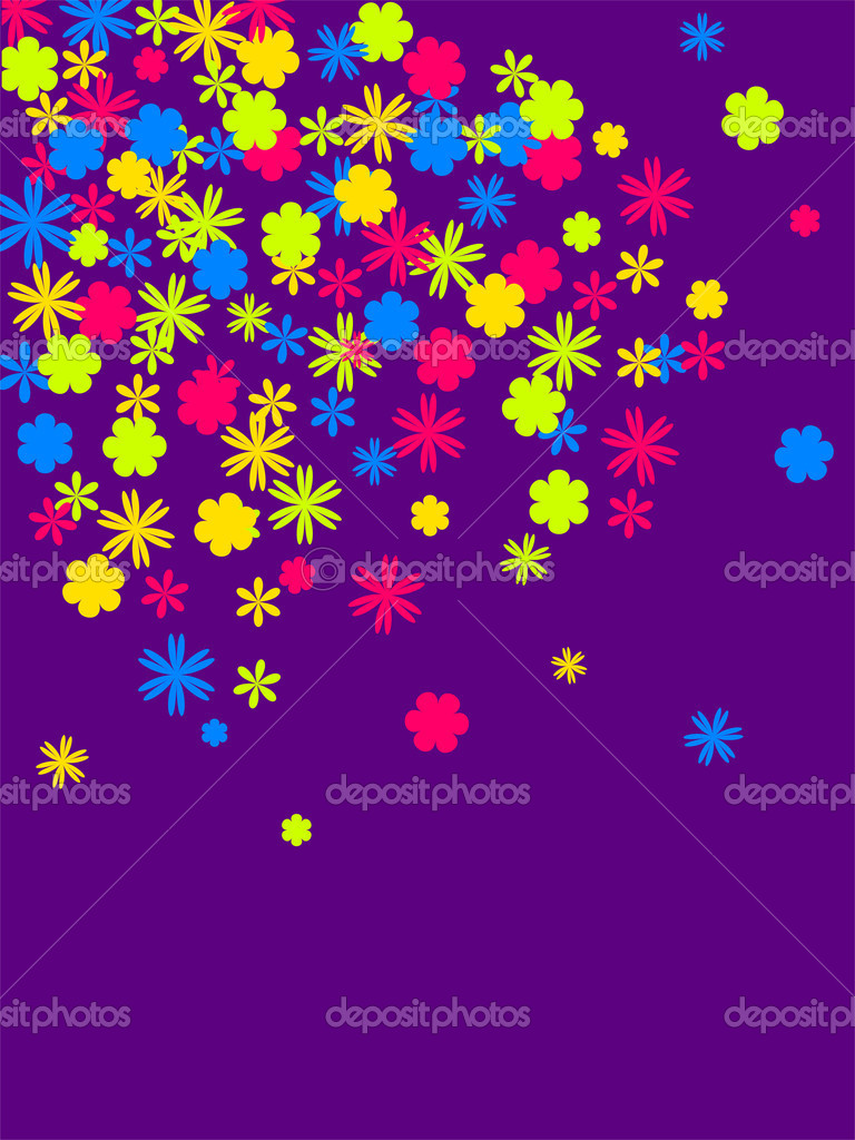 Vector illustration of a floral background  Stock Vector #2915800