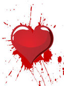 Valentine`s heart — Vecteur