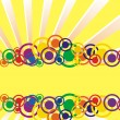 Colorful circle banner — ストックベクター #3057223