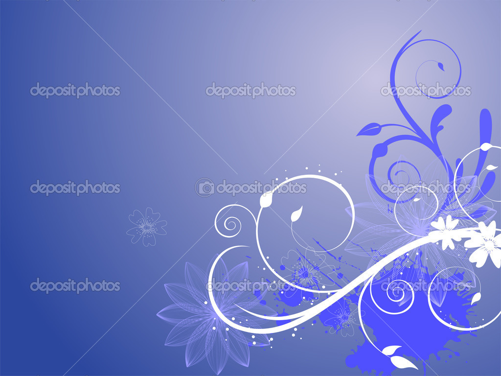 Illustration of an elegant floral background  Stock Vector #3057452