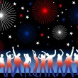 Royalty-Free Stock Imagen vectorial: 4th july party