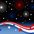 Stars and stripes - Imagen vectorial