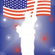 4th july background — Stock Vector #3603673