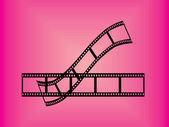 Film stripes — Stock Vector