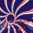 4th july background — Vector de stock