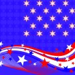 4th july background - Stock Vector