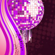 Royalty-Free Stock Vector Image: Colorful mirror ball
