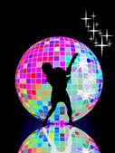 Disco queen — Stock Vector