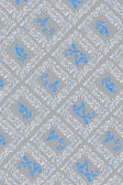 Blue and gray antique wallpaper — Stock Photo