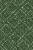 Green antique wallpaper — Stock Photo