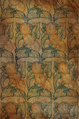 Antique wallpaper pattern lily — Stock Photo