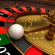 Royalty-Free Stock Photo: Roulette in a casino