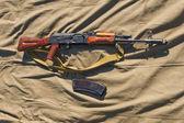 Automatic weapon AK-74 — Stock Photo