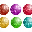 Royalty-Free Stock Vektorfiler: Disco balls
