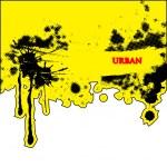 sfondo astratto urbano vettoriale — Vettoriale Stock