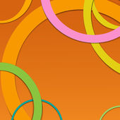 Abstract background with circles. — Stock Vector