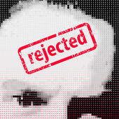"""Stamp """"Rejected"""" — Stock Vector"""