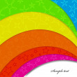 Royalty-Free Stock Vector Image: Rainbow background with step. Vector