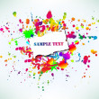 Royalty-Free Stock Vector Image: Colorful grunge banner. Vector illustration
