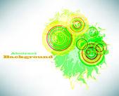 Banner abstracta grunge. vector — Vector de stock