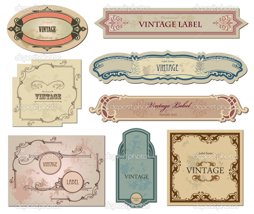 Free Vintage Labels