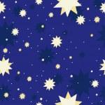 Vector star galaxy seamless background — Stock Vector #3830449