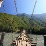 The rope bridge — Stock Photo #3333513